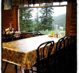 echo lake lodge table